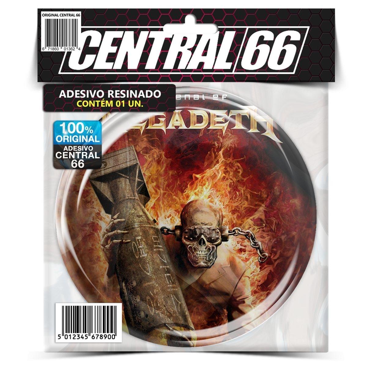 Adesivo Redondo Slayer Bode – Central 66