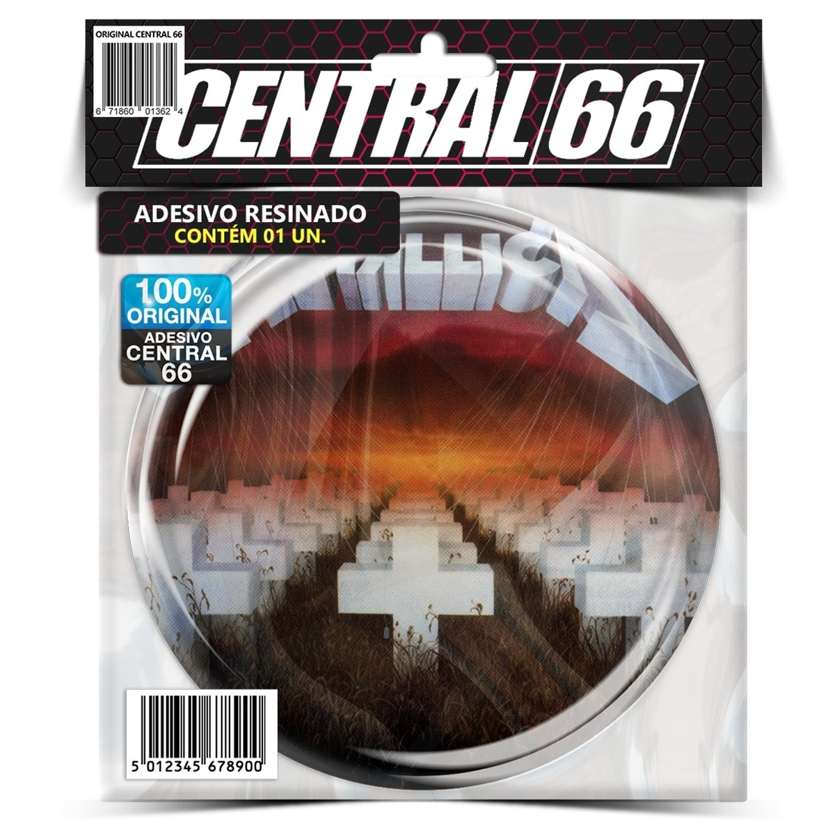 Adesivo Redondo Slipknot M02 – Central 66