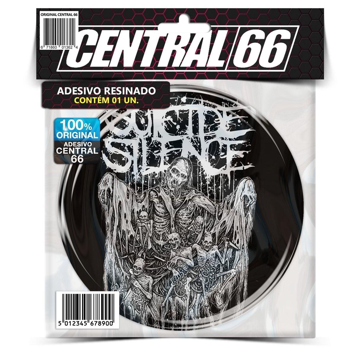 Adesivo Redondo Suicide Silence – Central 66