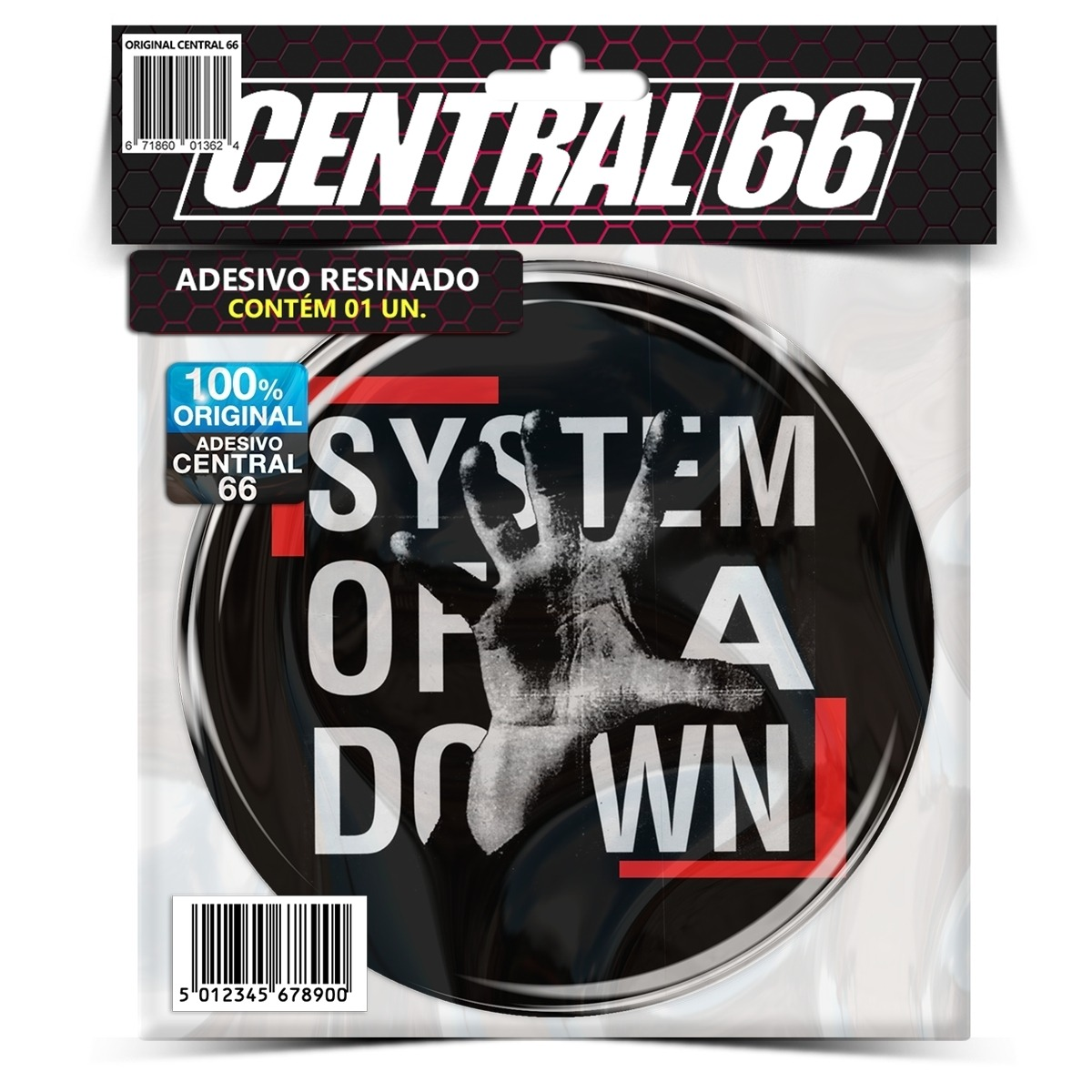 Adesivo Redondo System of a Down M02 – Central 66