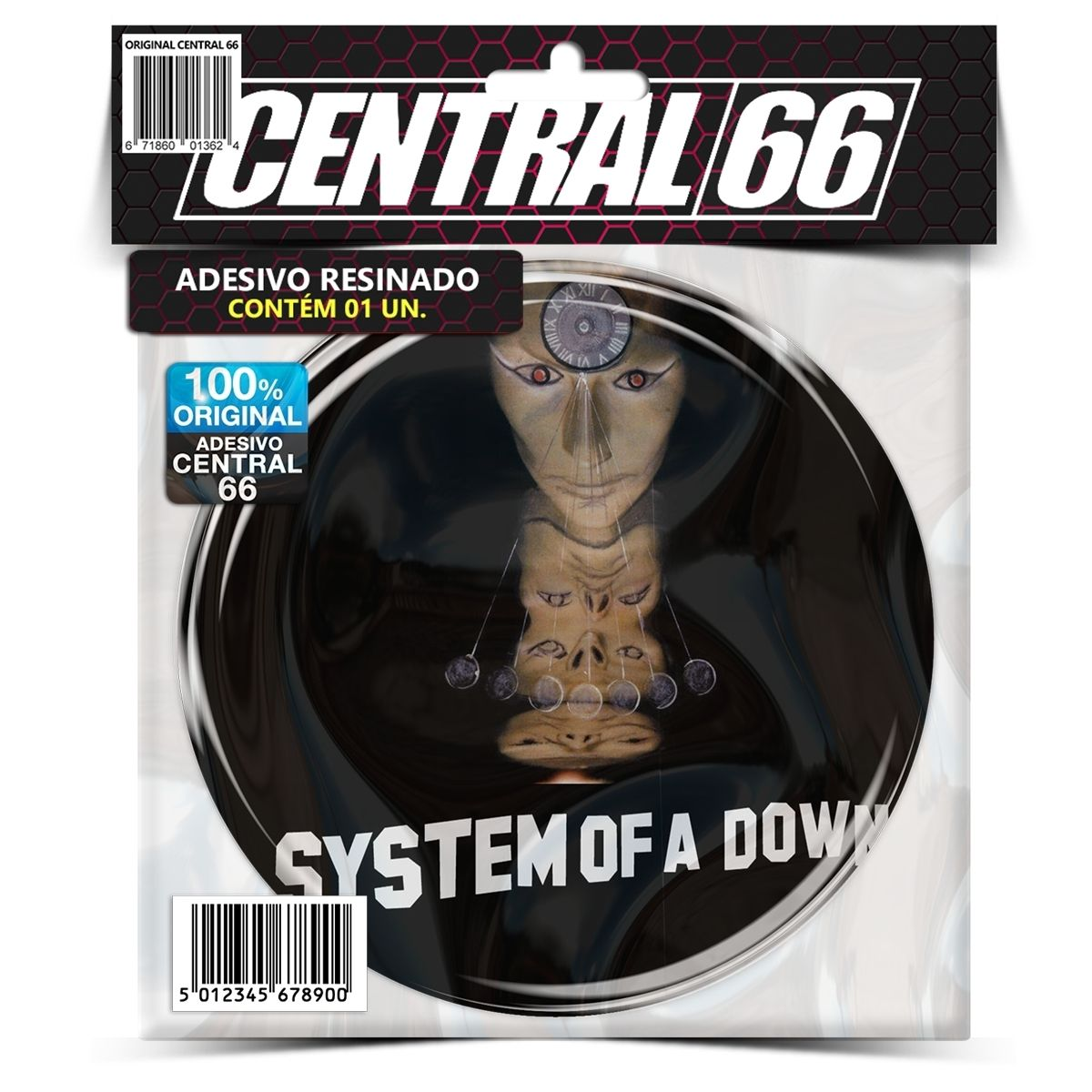 Adesivo Redondo System of a Down Mezmerize – Central 66