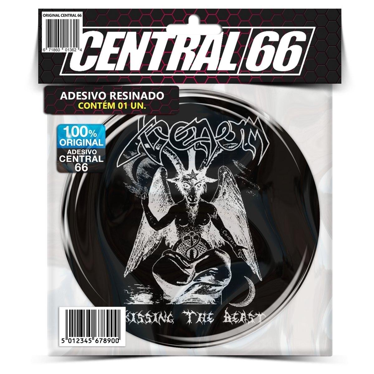 Adesivo Redondo Venom Kissing the Beast – Central 66