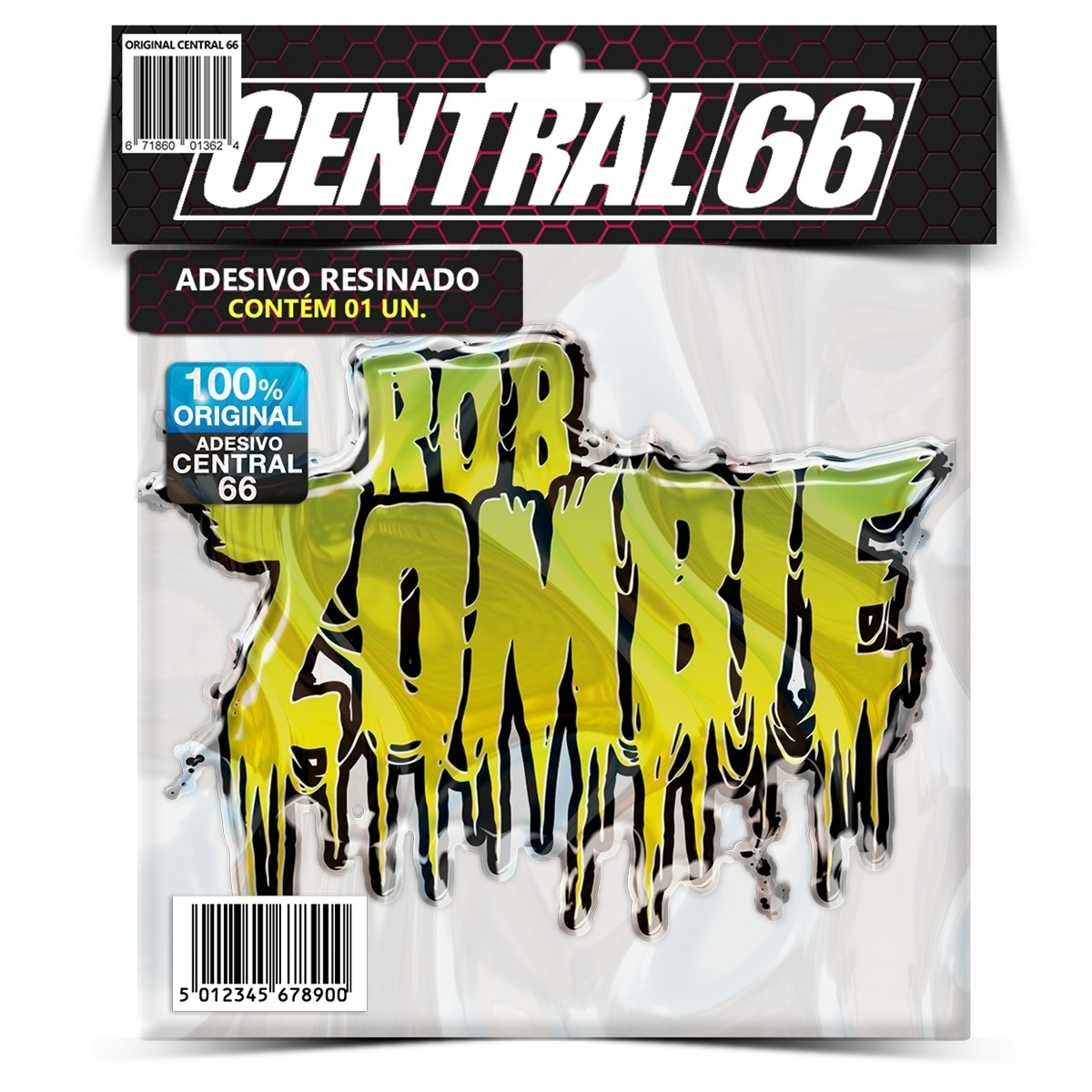 Adesivo Rob Zombie – Central 66
