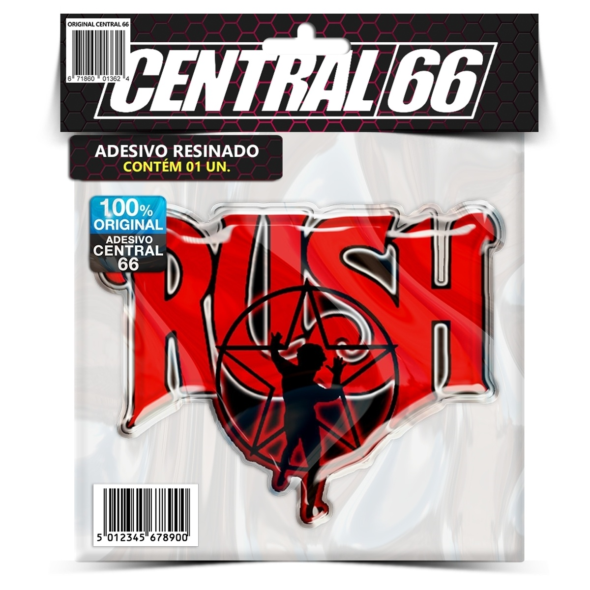 Adesivo Rush M02 – Central 66