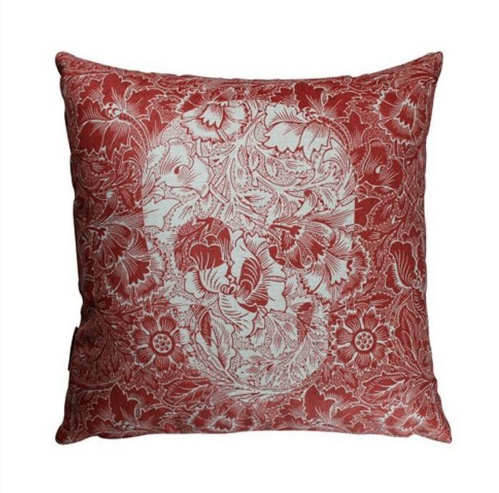 Almofada 45 Skull Red - Rvalentim