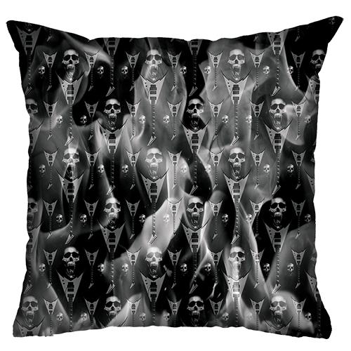 Almofada Rock Use - Fire Skull (Preto)