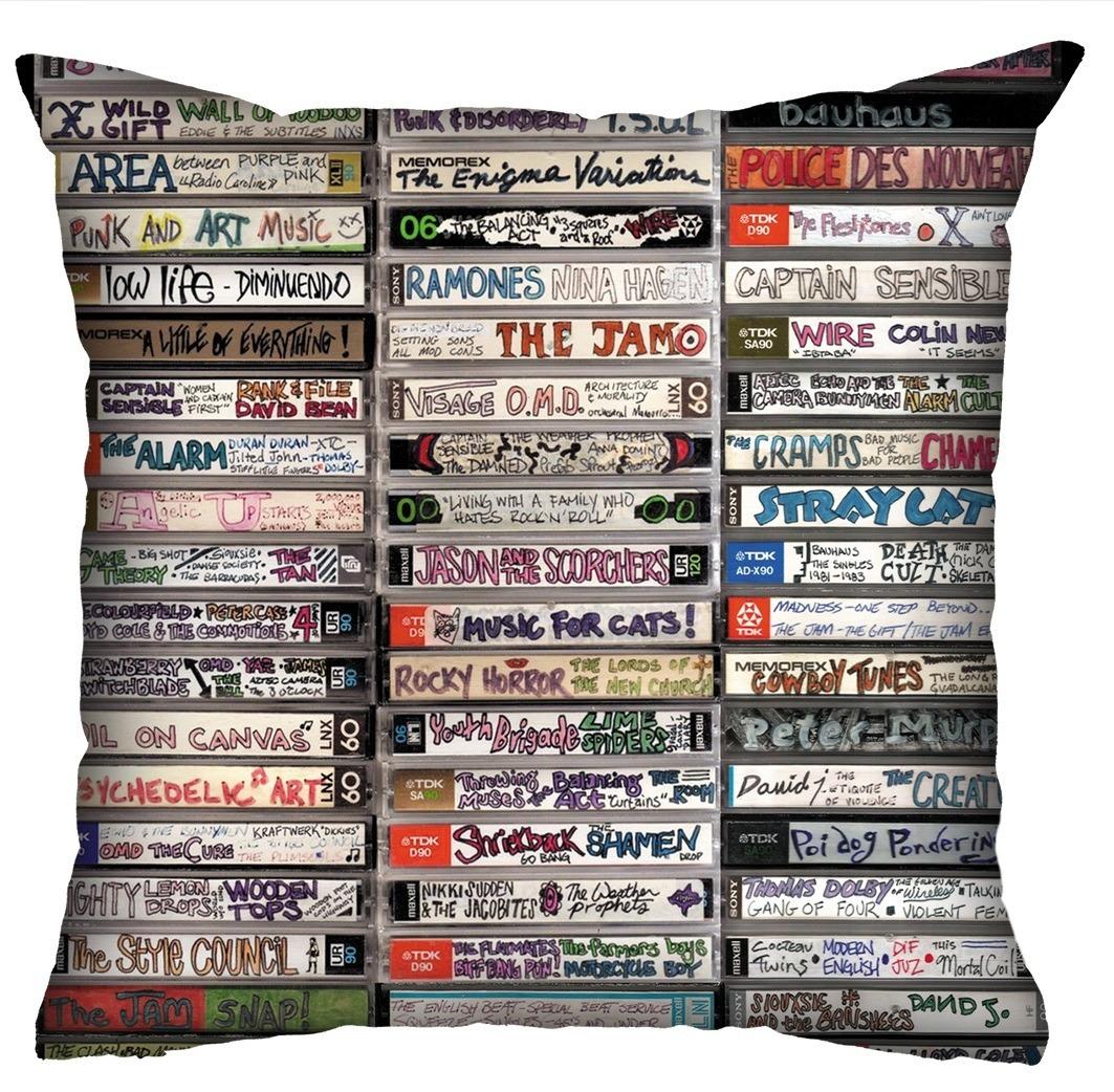 Almofada Rock Use - Fitas Cassete