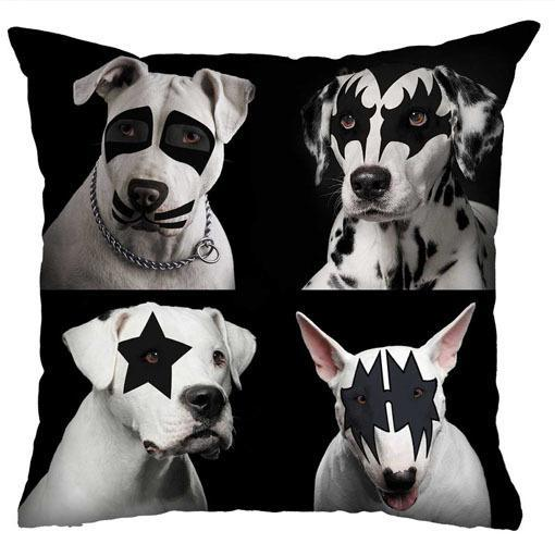 Almofada Rock Use - Four Dogs Kiss
