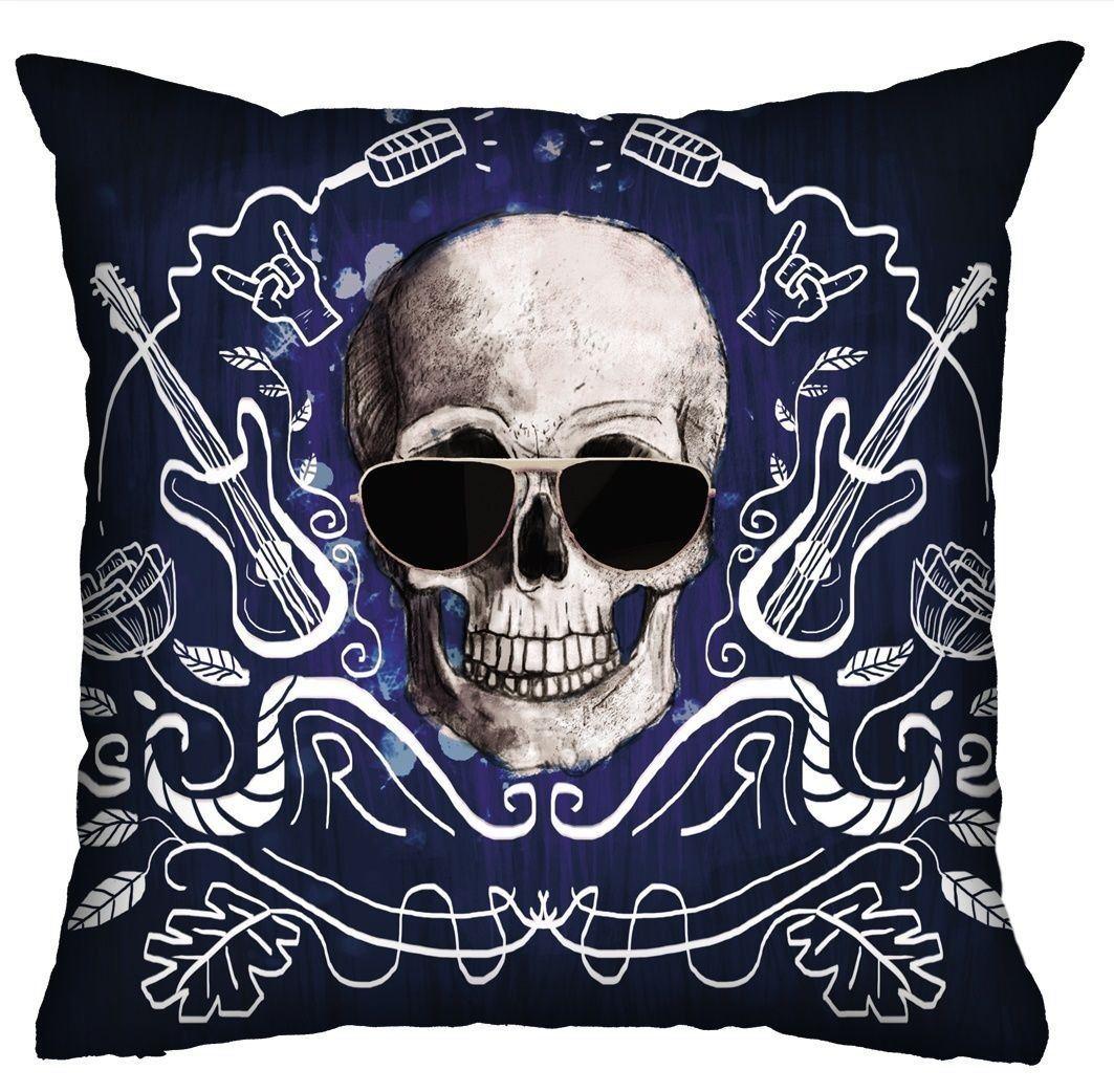 Almofada Rock Use - I love rock n'roll (Azul)