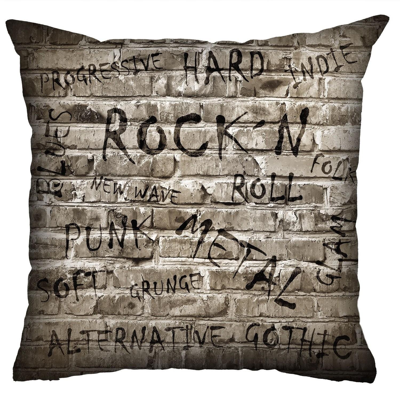 Almofada Rock Use - Rock Wall (Cinza)