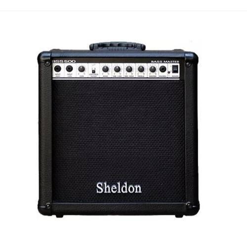 Amplificador Contrabaixo Cubo Sheldon BSS-500  50W RMS