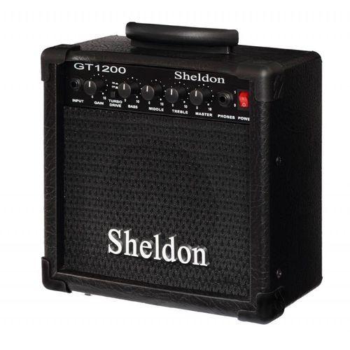Amplificador Guitarra Sheldon GT-1200 15w Rms Preto