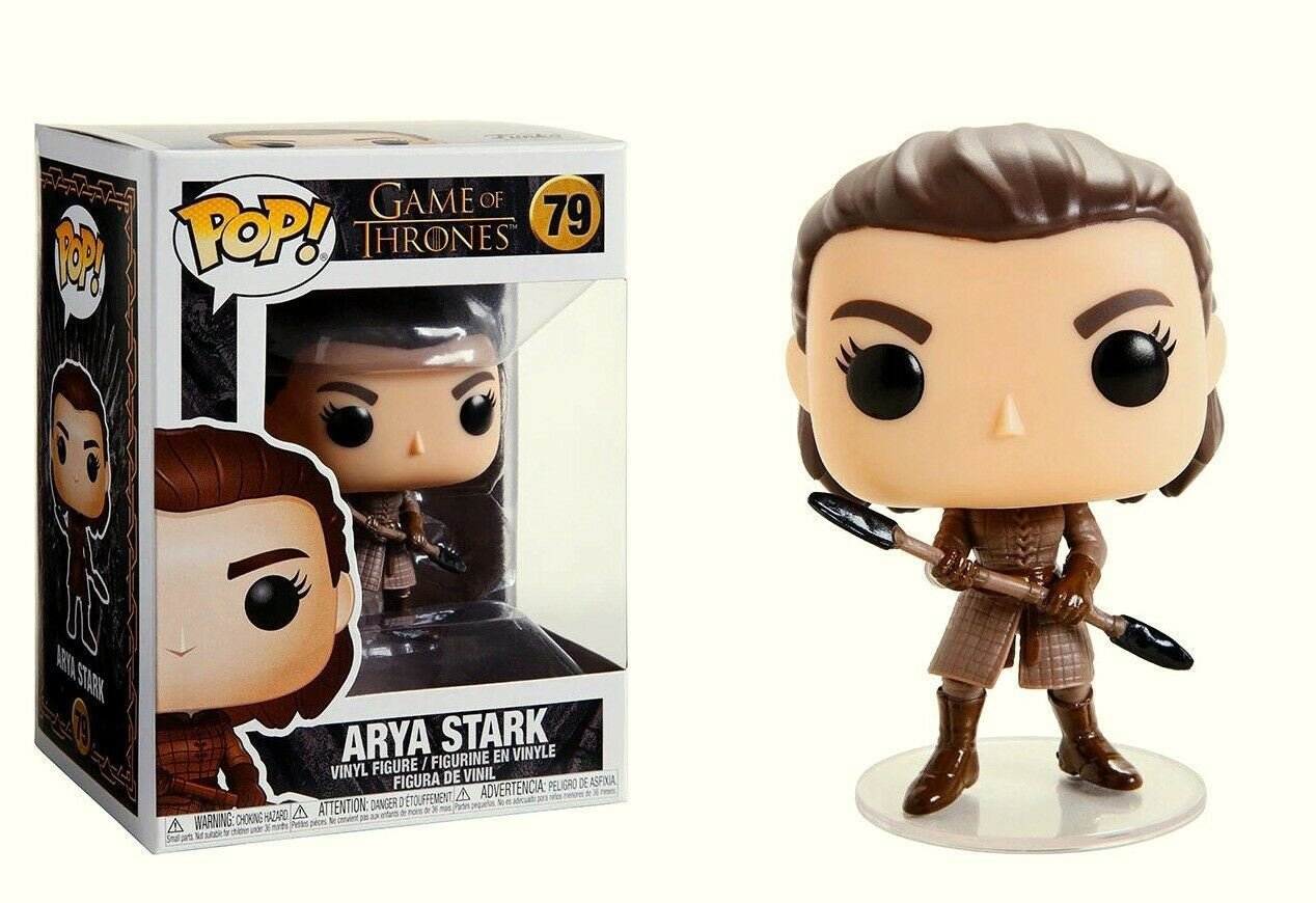 Arya Stark With Spear - Game Of Thrones - Funko Pop! #79