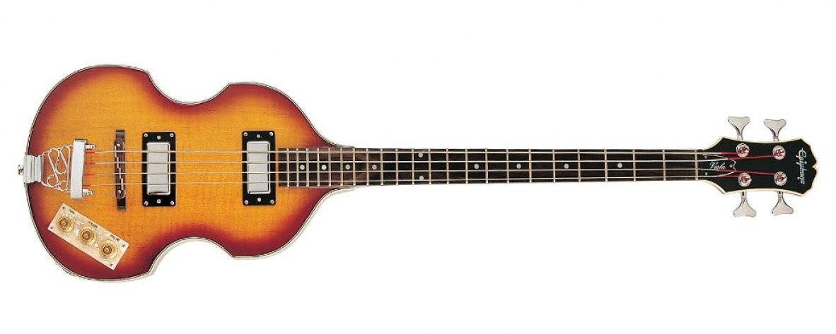 Baixo 4 Cordas Epiphone Viola Bass Vintage Sunburst