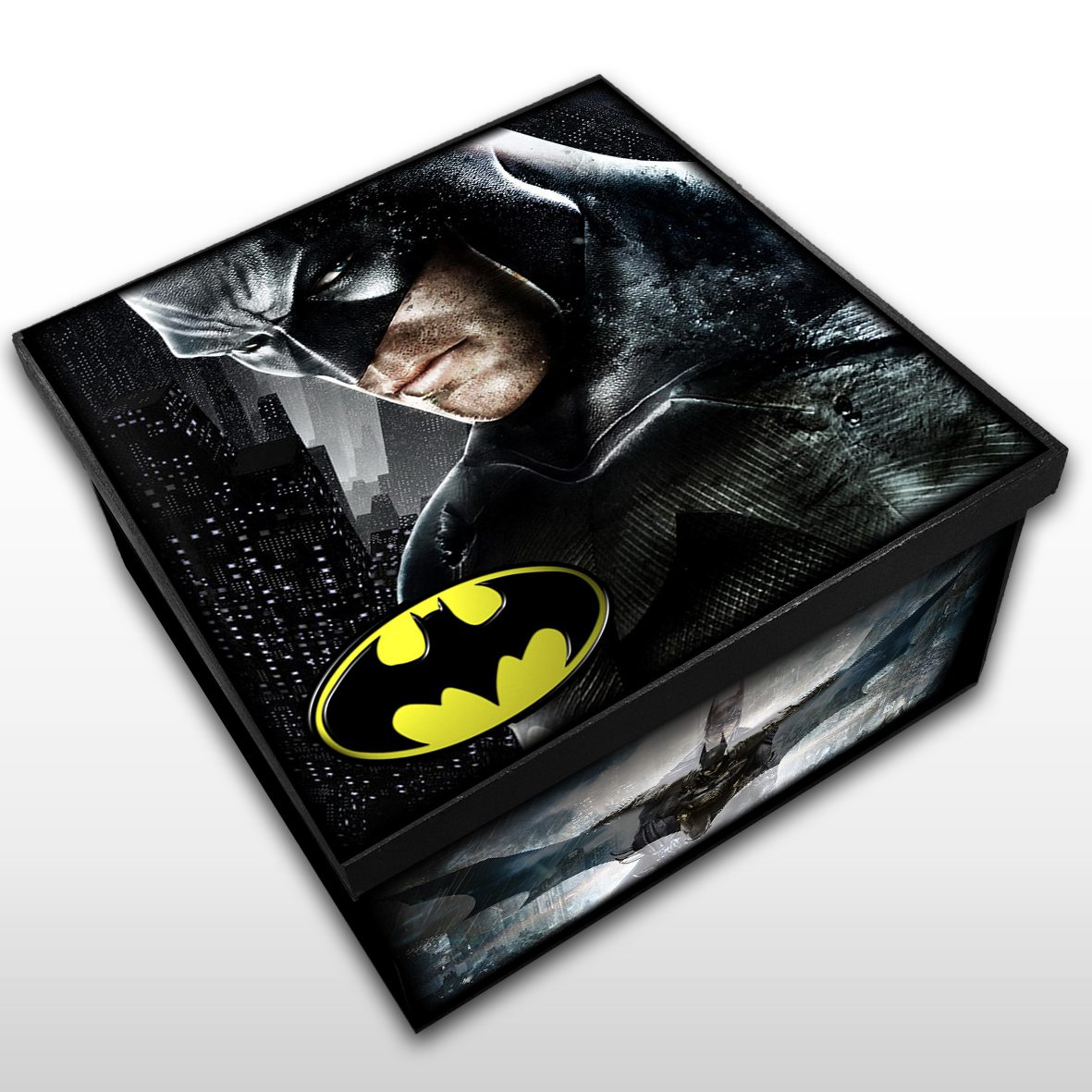 Batman - Caixa em MDF - Tam. Médio - Mr. Rock