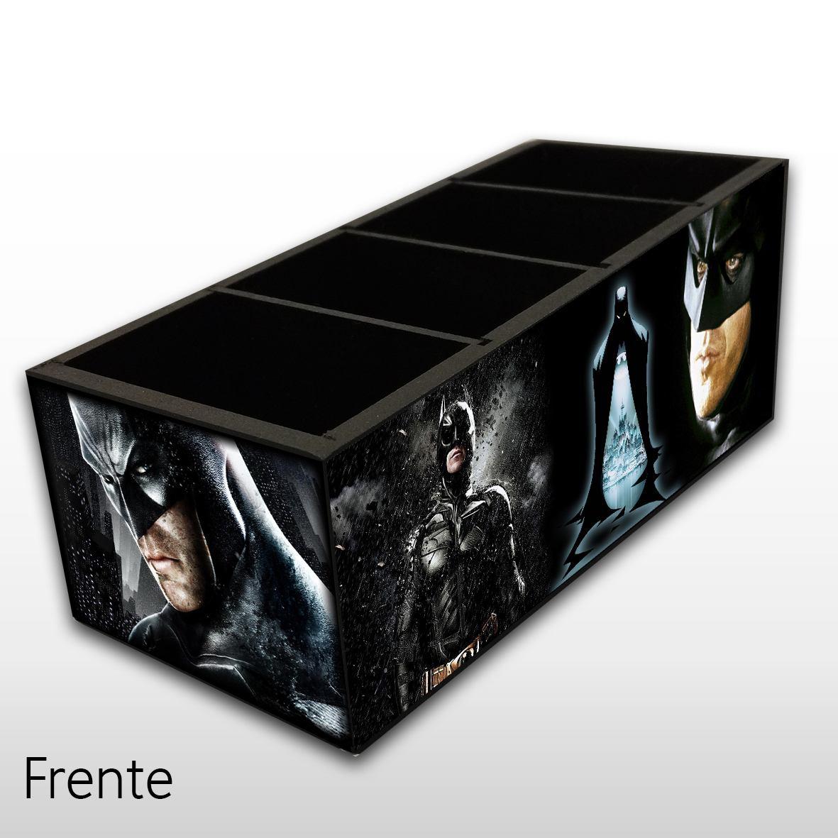 Batman - Porta Controles MDF - 4 Espaços - Mr. Rock