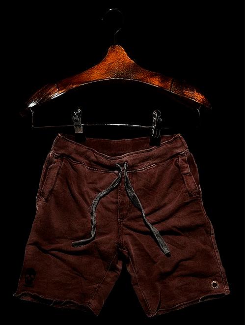 Bermuda Masculina Moleton Rústica Ouro Velho - Vitorio Baro