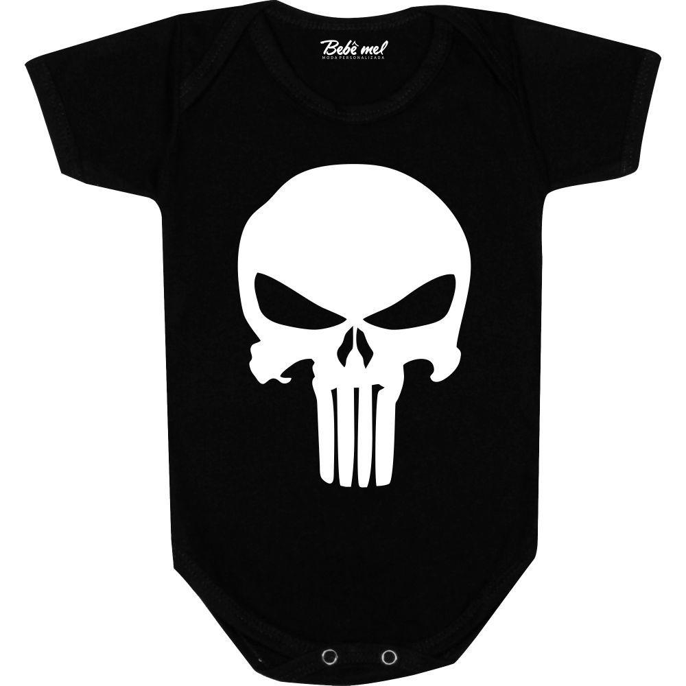 Body Bebê personalizado  Justiceiro