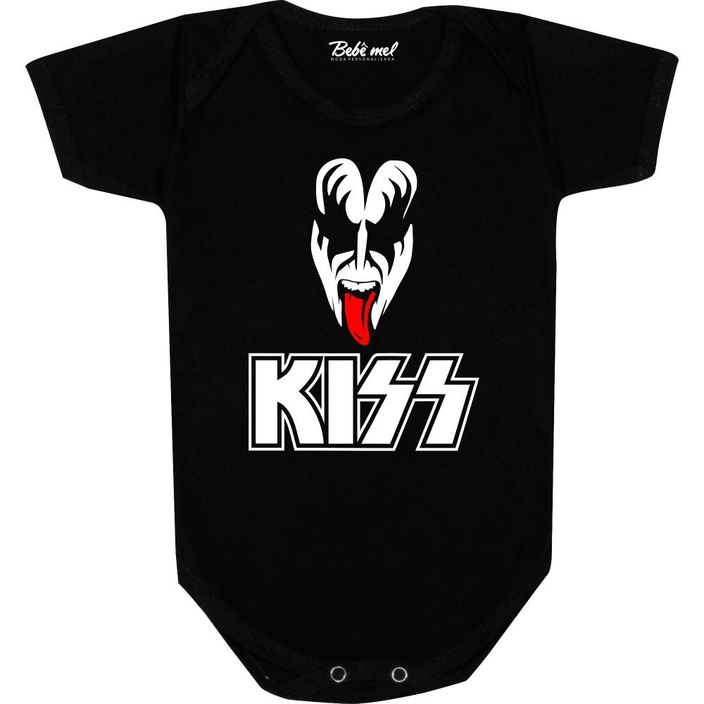 Body Bebê personalizado  Kiss