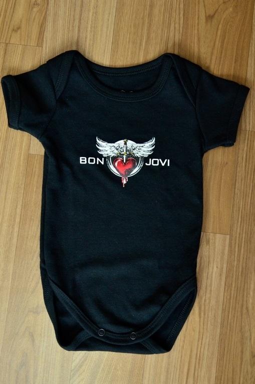 Body infantil BON JOVI Baby Rock