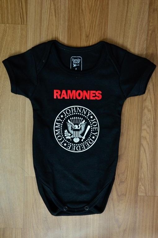 Body infantil RAMONES Baby Rock