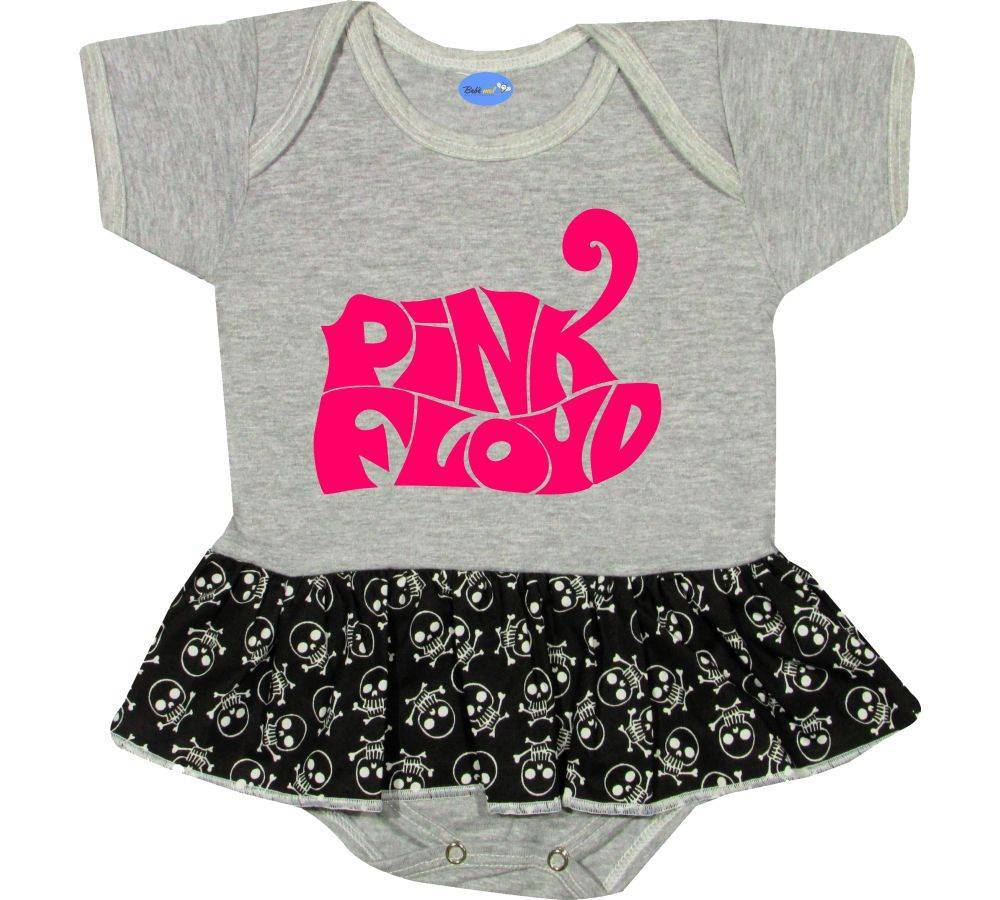 Body Saia Bebê personalizado  Pink Floyd Rock