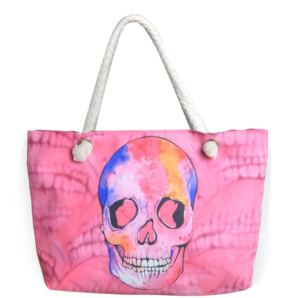 Bolsa Caveira Pink