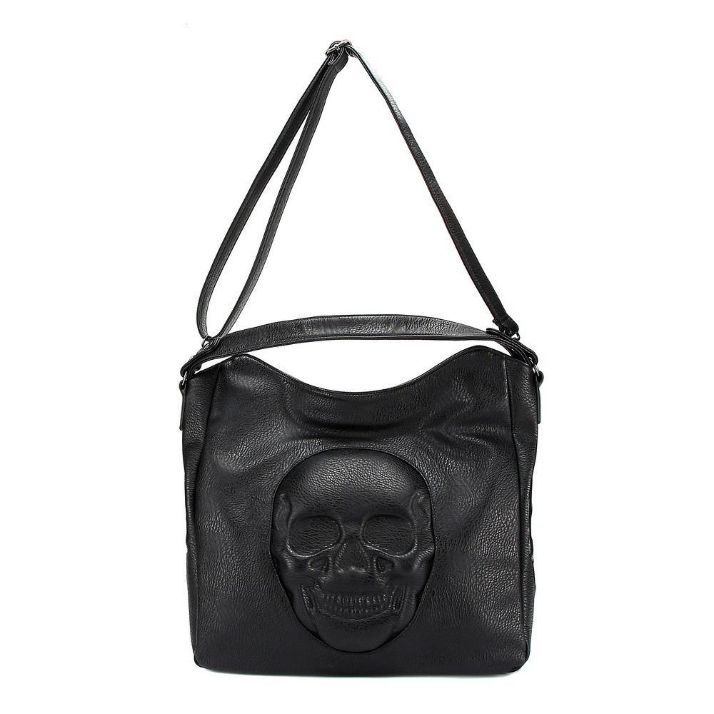 Bolsa  Caveira Skull em 3D