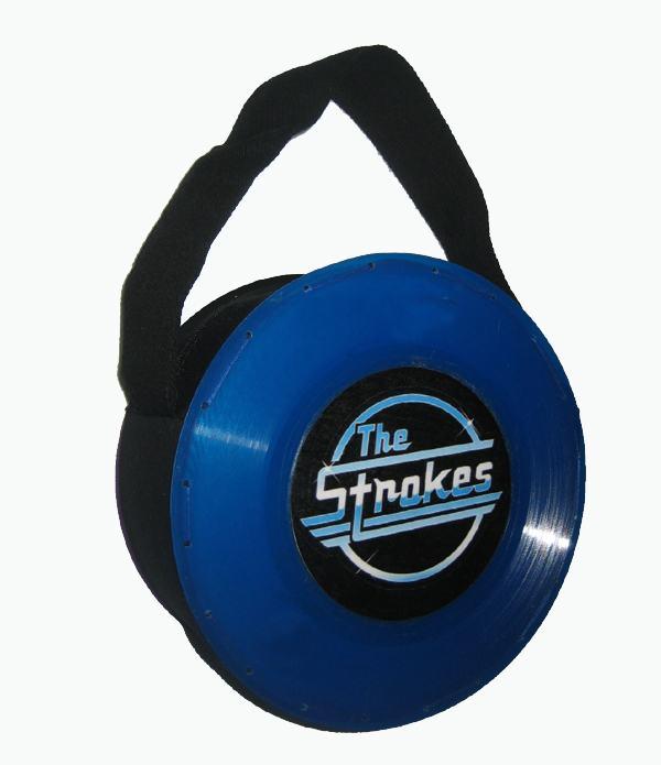 Bolsa Disco Azul Pequeno The Strokes