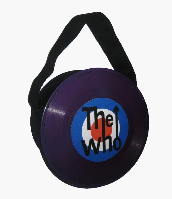 Bolsa Pequena Disco Roxo The Who