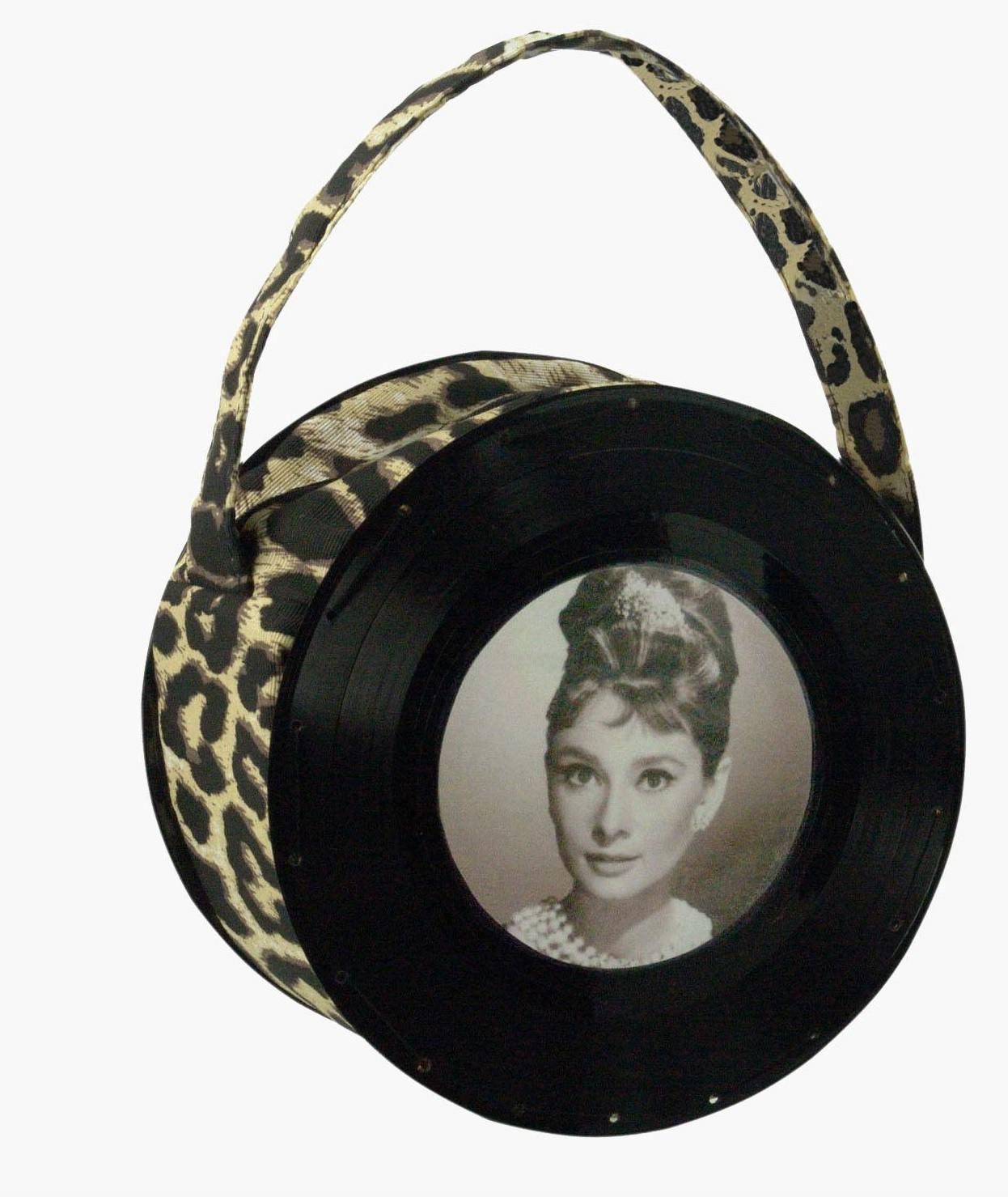 Bolsa Pequena Onça Audrey Hepburn