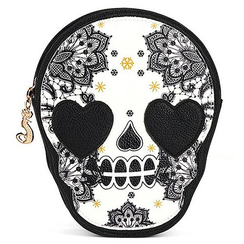 Bolsa Skull Heart - SkullAchando