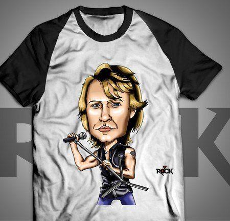 Camiseta Exclusiva Mitos do Rock Bon Jovi