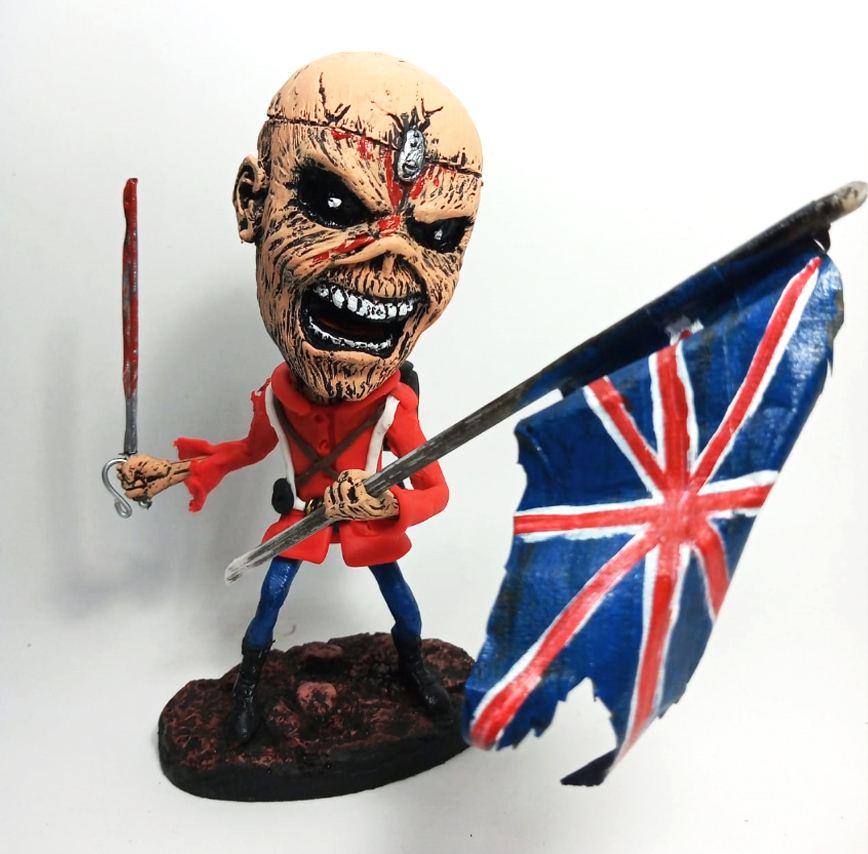 Boneco Eddie Iron Maiden