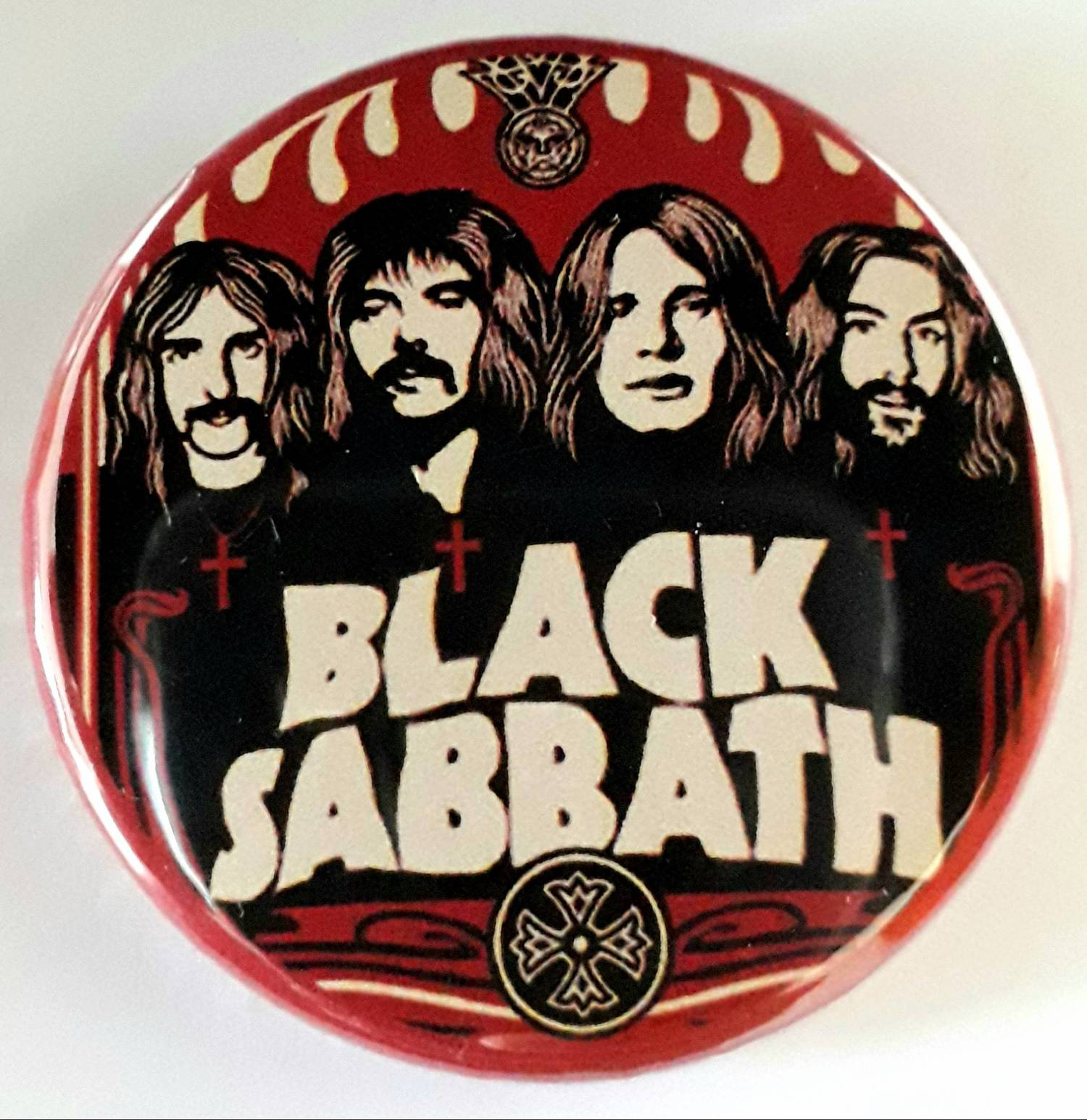 Botton Black Sabbath