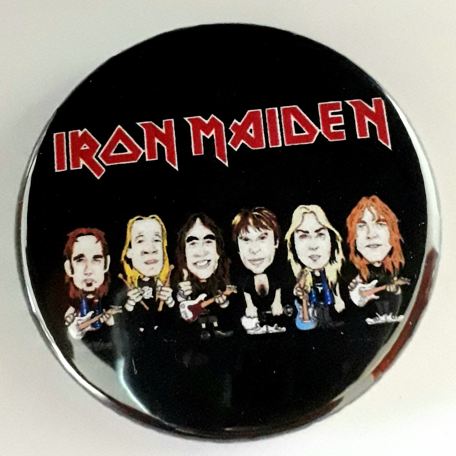 Botton Favartes Iron Maiden