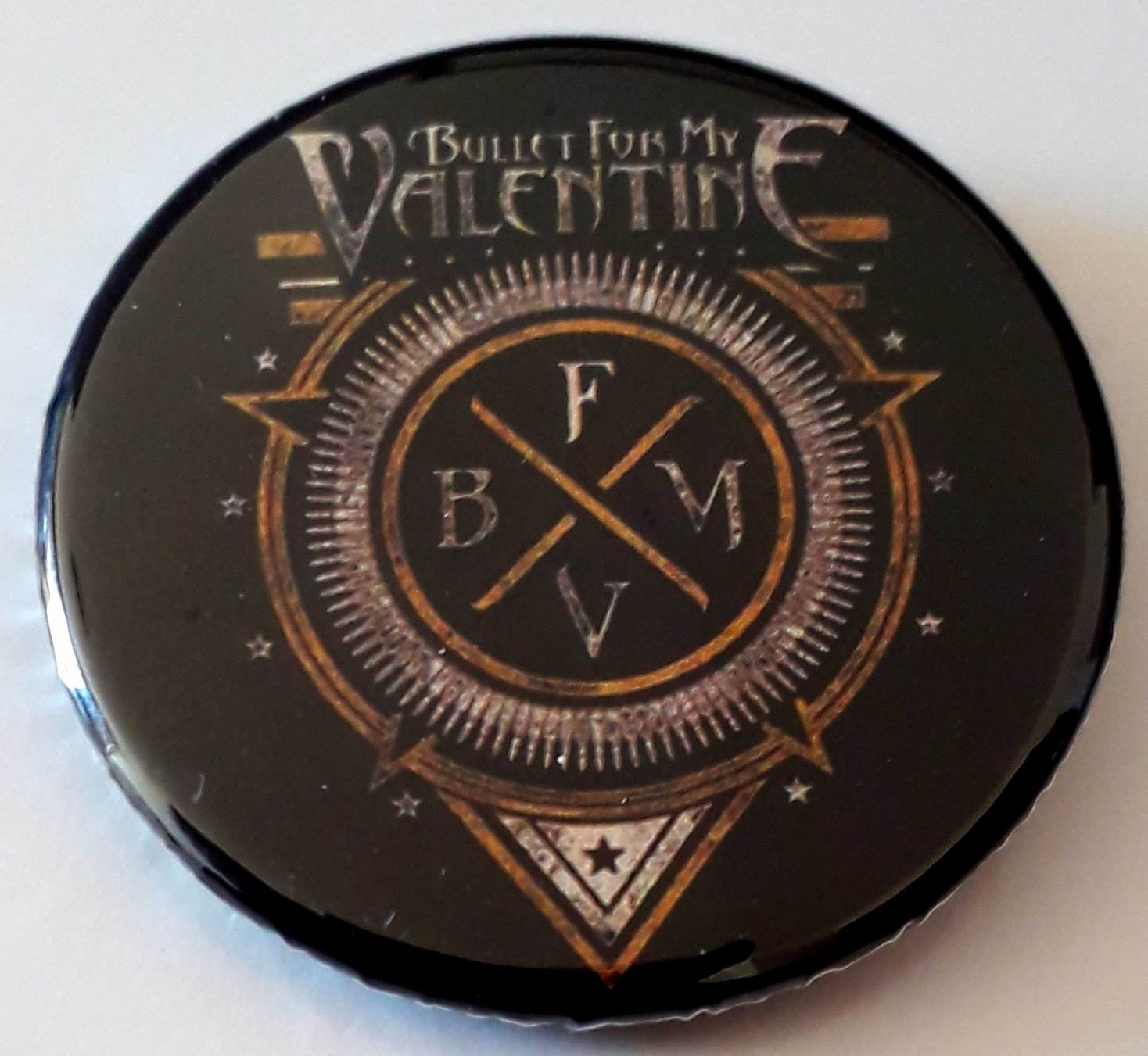 Botton Bullet for my Valentine