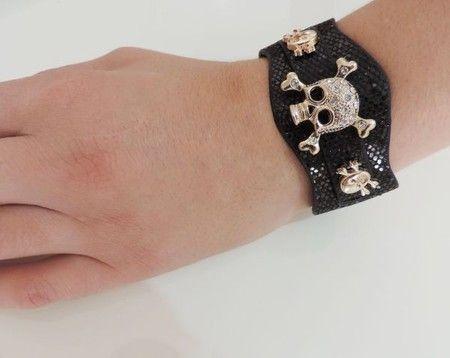 Bracelete Caveirinha - Psicose Store