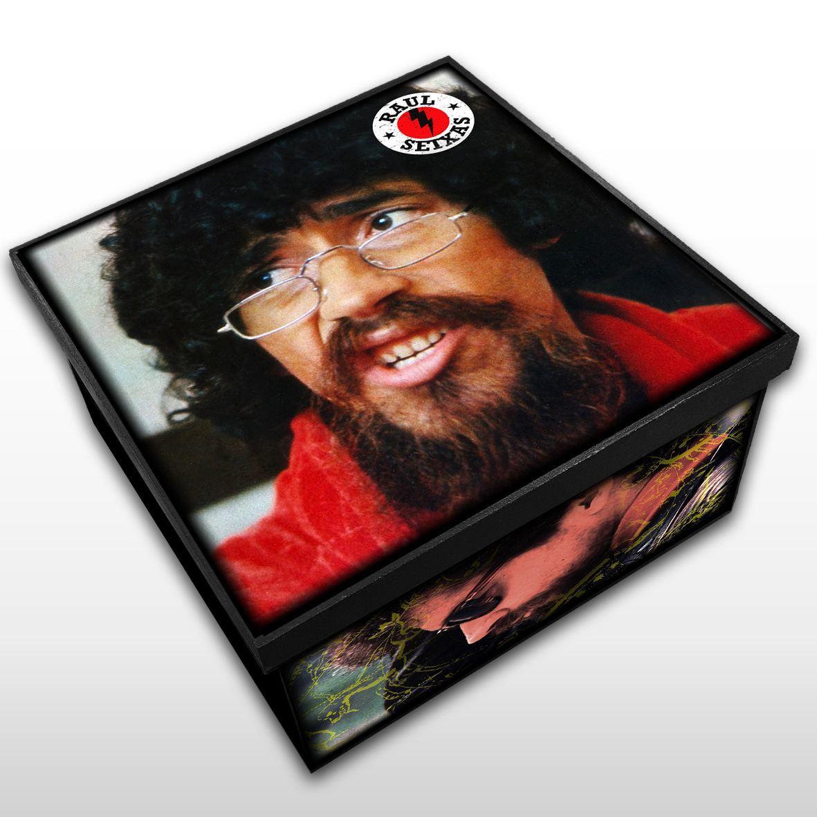 Raul Seixas - Caixa em Madeira MDF - Tamanho Médio - Mr. Rock