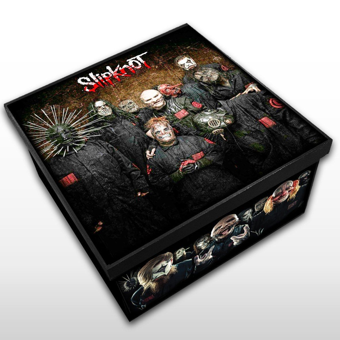 Slipknot - Caixa em Madeira MDF - Tamanho Médio - Mr. Rock