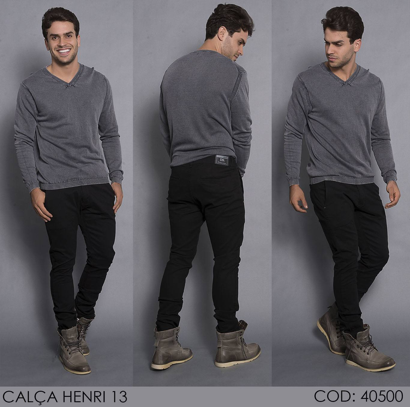 Calça Darlook Denim Helier [40500]