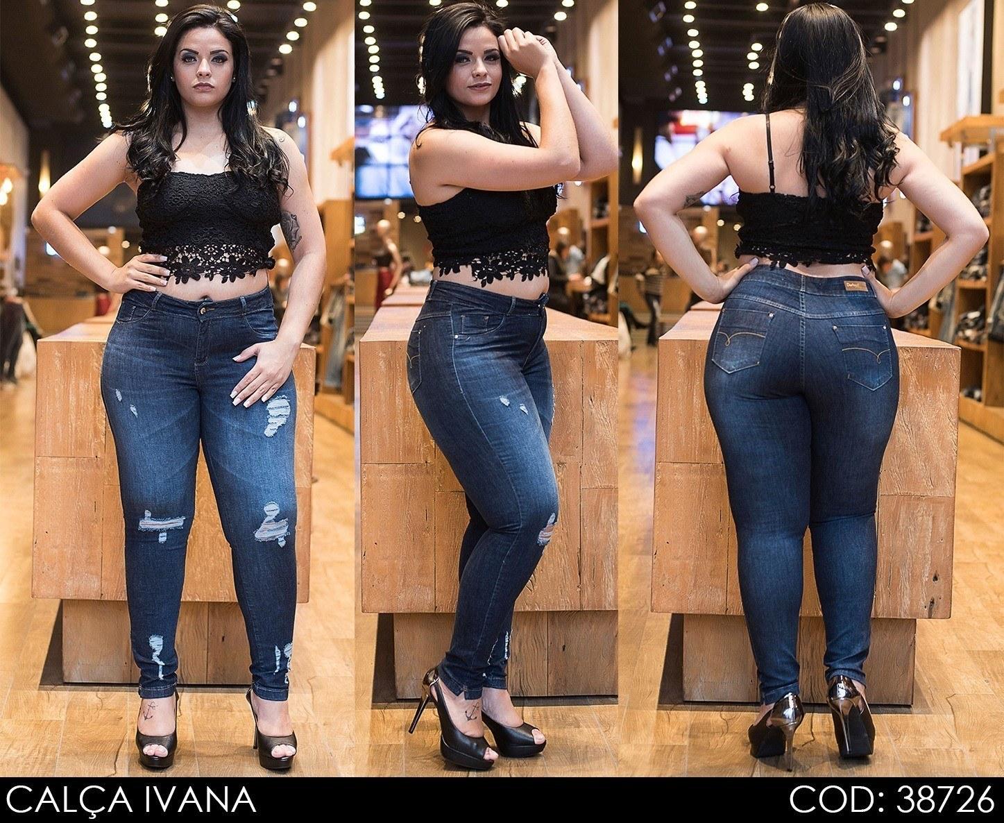 Calça Jeans Darlook Ivana Intermediária[38726]