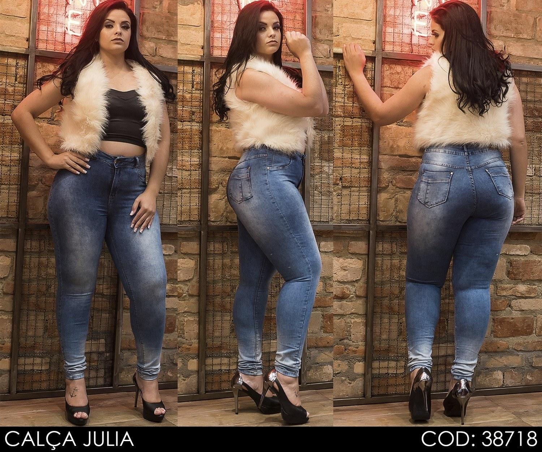 Calça Jeans Darlook Júlia Intermediária [38718]