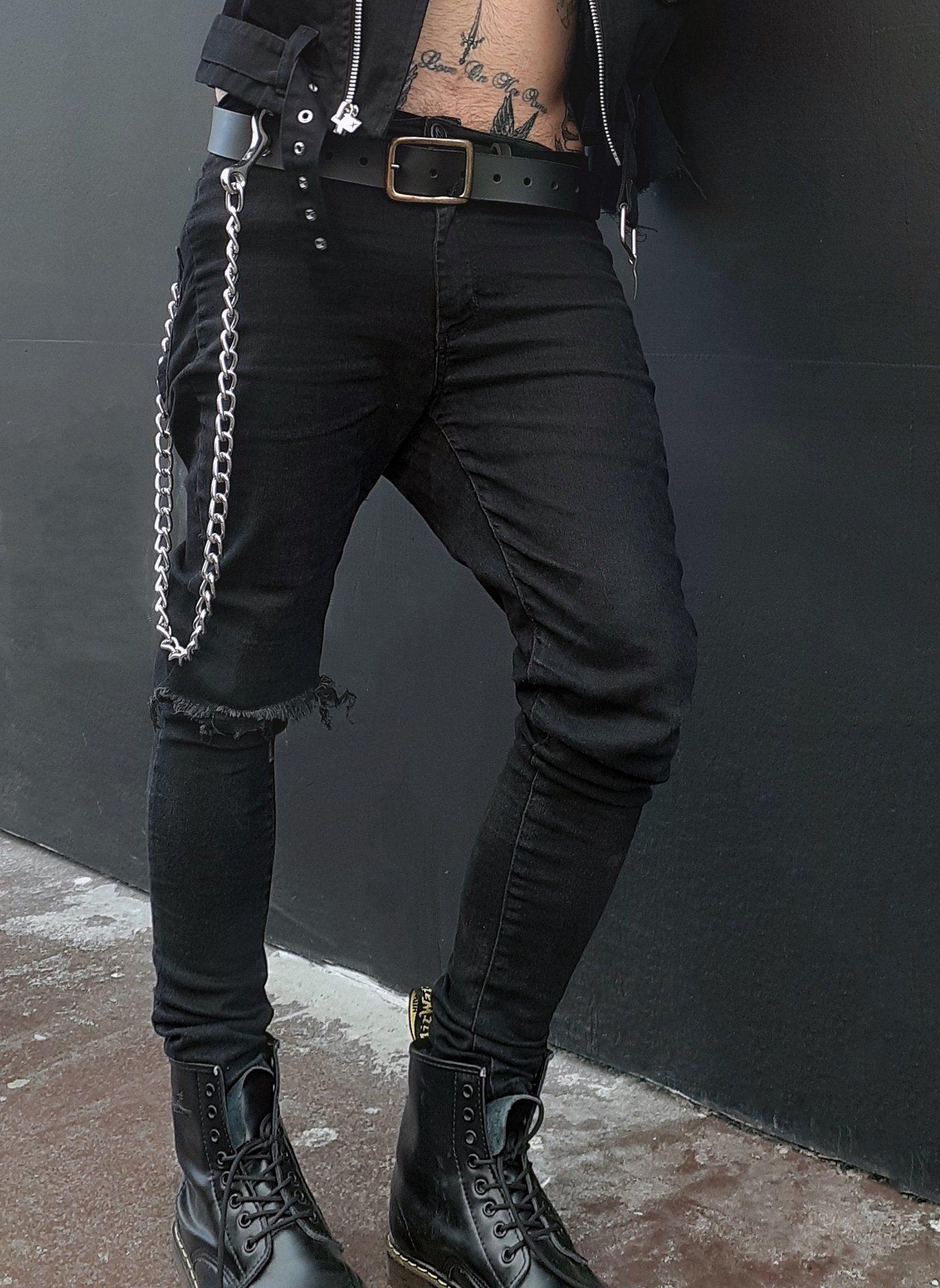 Calça Skinny Punk - High High