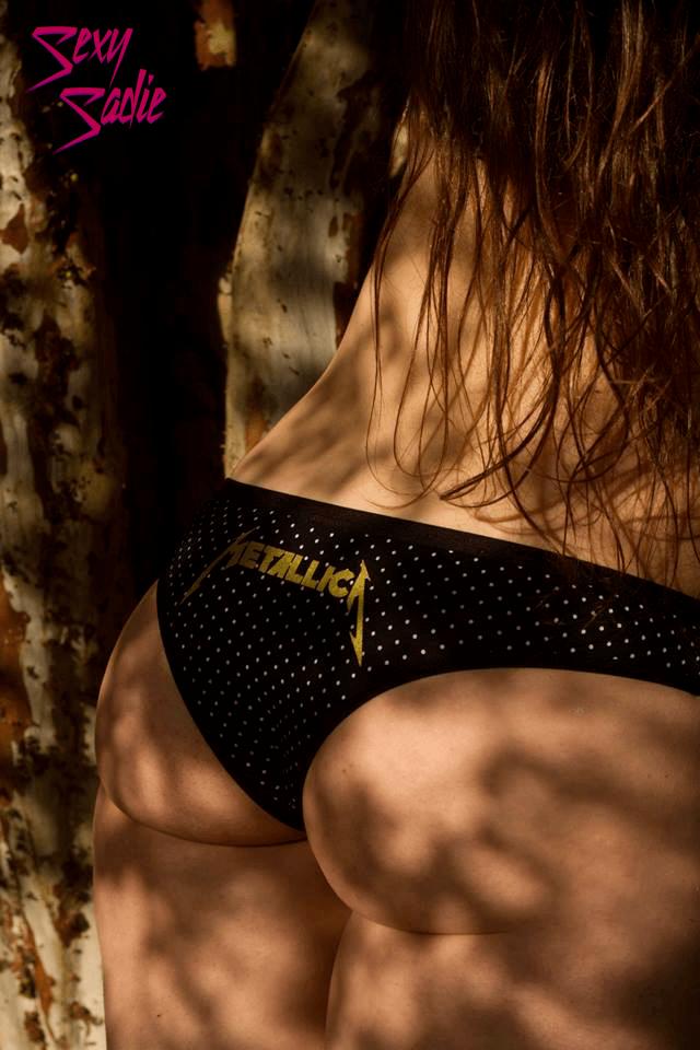 Calcinha Poá - Metallica - Sexy Sadie Underwear