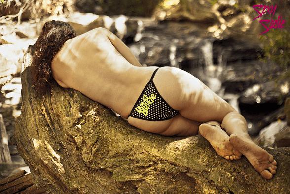 Calcinha String Poá - David Bowie - Sexy Sadie Underwear