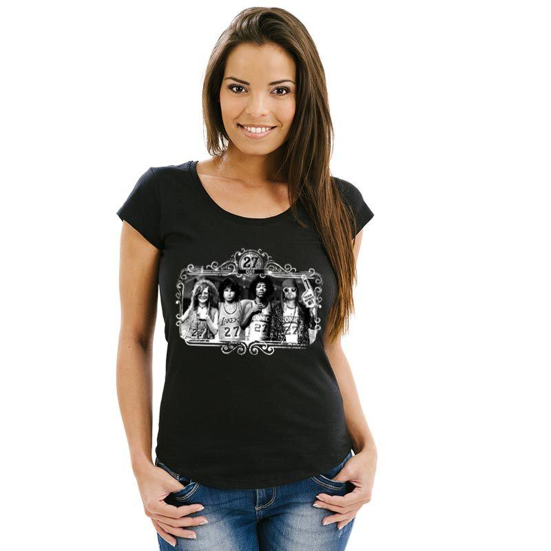 Camiseta 27 Club Feminina
