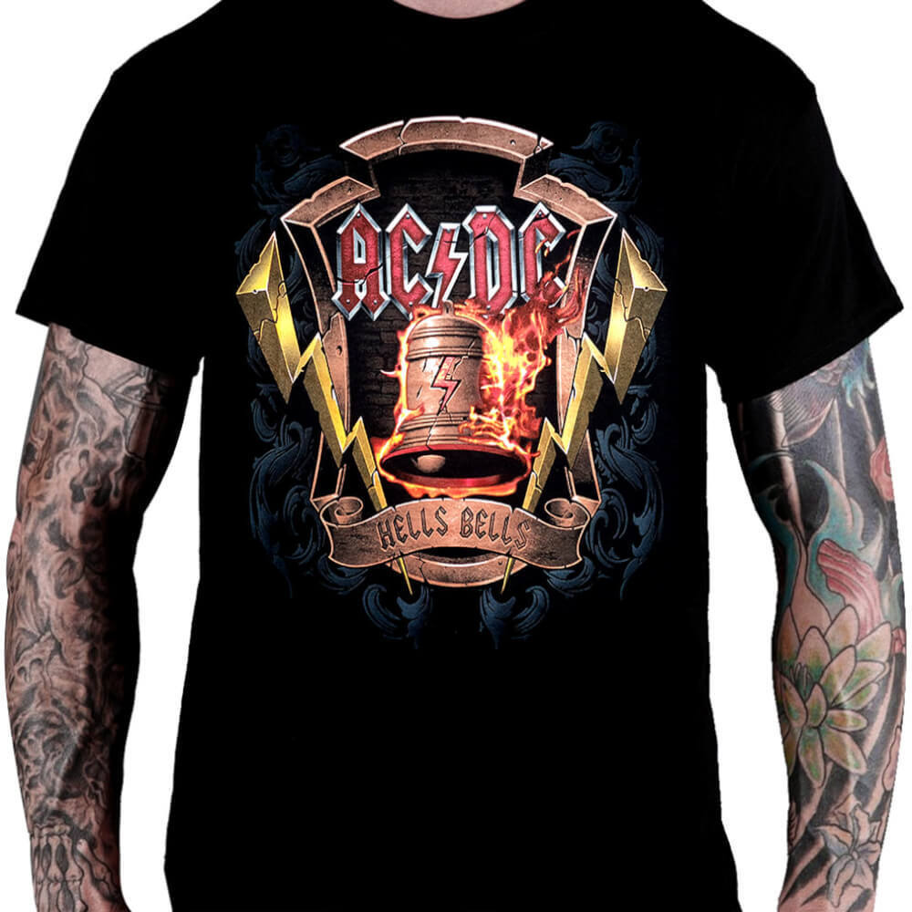 Camiseta AC/DC Hells Bells - Consulado do Rock