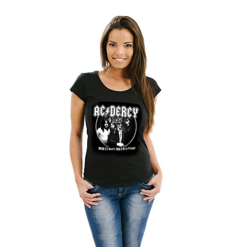 Camiseta AC/Dercy Feminina