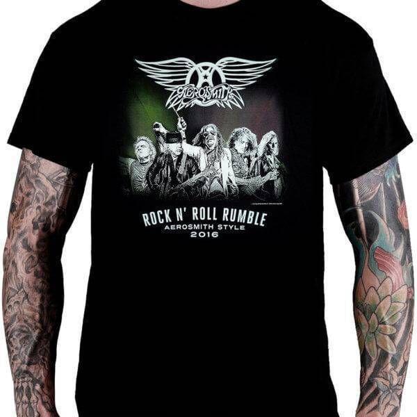 CamisetaAerosmith Rock 'n' Roll Rumble - Consulado do Rock